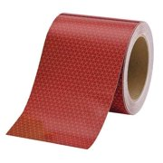 ORALITE 18714 Reflective Tape,W 6 In,Red
