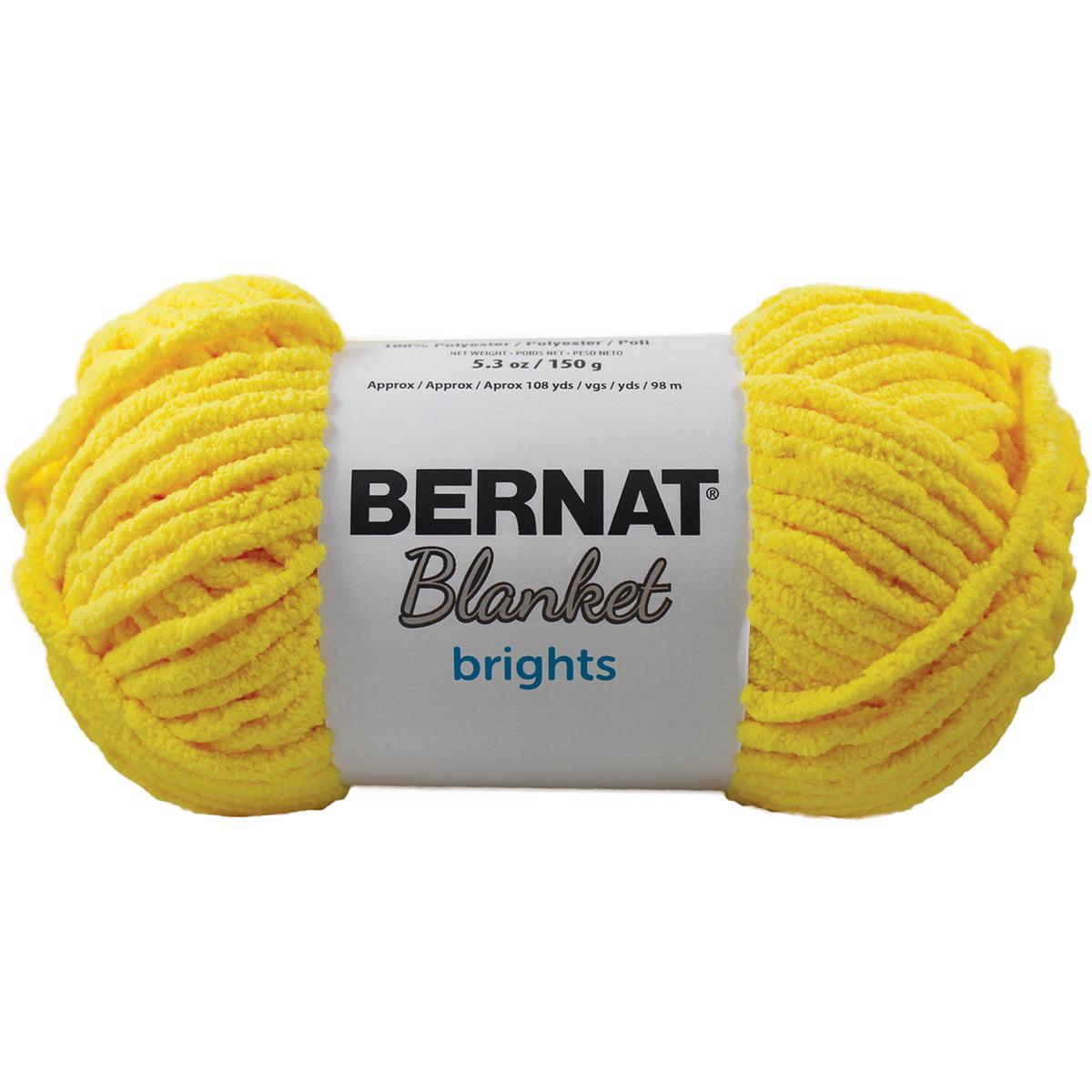 Bernat Blanket Brights Big Ball Yarn Royal Blue