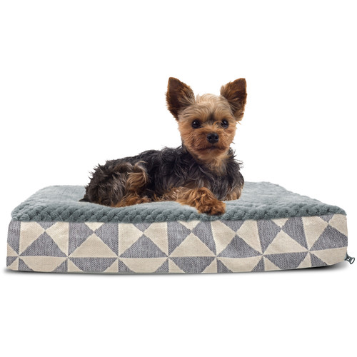 Archie & Oscar Bessie Plush Top Kilim Deluxe Orthopedic Dog Pillow