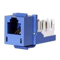 Hubbell - Network connector - RJ-25 (F) - 110 - ( CAT 4 ) - blue [Electronics]