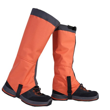 MAXSUN Outdoor Waterproof Boot Hiking Shoes Gaiters Ski Snow High Leg Shoes Protective Cover (Gtx Gaiters)