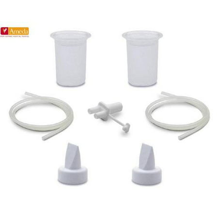 - Ameda Purely Yours Ultra Breast Pump HygieniKit Spare Parts Kit