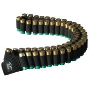 Galati Gear Shotgun Bandoleer, Holds 56 shells .12, .16, or .20 Gauge Shells, Black