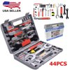 Adjustable Wrench Sets 44pcs Multi-Function Bike Cycling Bicycle Maintenance Repair Hand Wrench Tool Kit Box Case