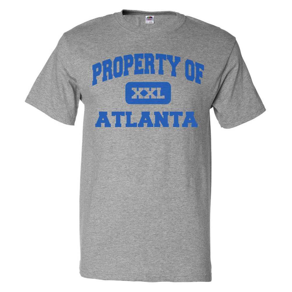 Property Of Atlanta T Shirt Funny Tee Gift Walmart