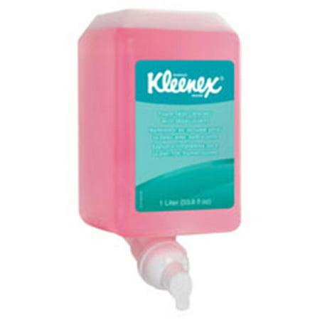 Kimberly-Clark Professional KCC91552CT Kleenex Foam Skin Cleanser Refill, 6 Per Carton (Skin Flush Refill)