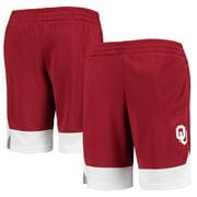 Youth Crimson Oklahoma Sooners Mesh Shorts