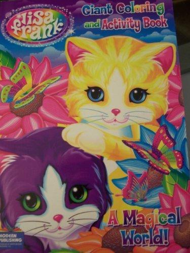 Lisa Frank Coloring & Activity Book, 96 Pages - Walmart.com - Walmart.com