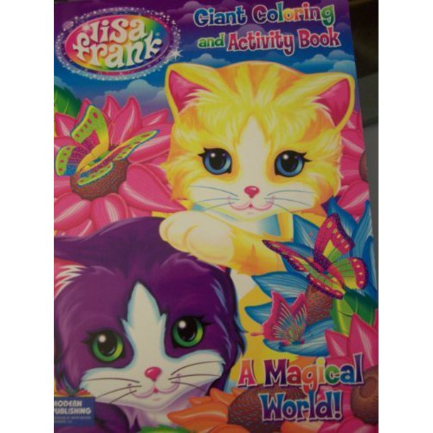 Amazon.com: Lisa Frank Coloring and Activity Book Set (2 Books ... | 612x612
