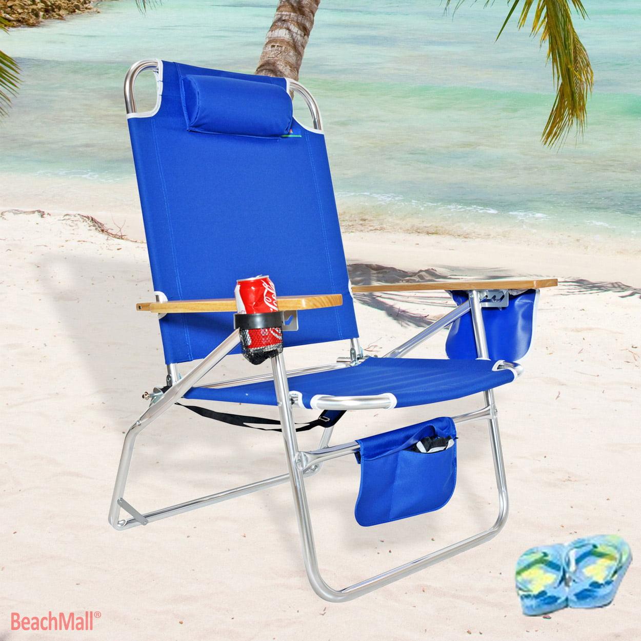 Big Jumbo Heavy Duty 500 lbs XL Aluminum Beach Chair for Big u0026 Tall - Walmart.com  sc 1 st  Walmart & Big Jumbo Heavy Duty 500 lbs XL Aluminum Beach Chair for Big u0026 Tall ...