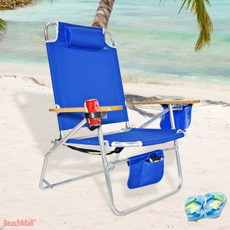 Jumbo Heavy Duty 500 Lbs Xl Aluminum Beach Chair For Tall Like
