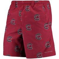 "South Carolina Gamecocks Columbia PFG Backcast II 8"" Omni-Shade Hybrid Shorts - Garnet"