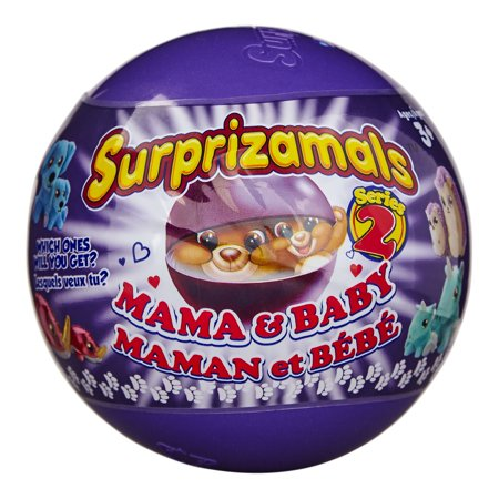 Surprizamals, Mama & Baby - Mystery Balls with 2-Collectible Plush Toys (Series 2)