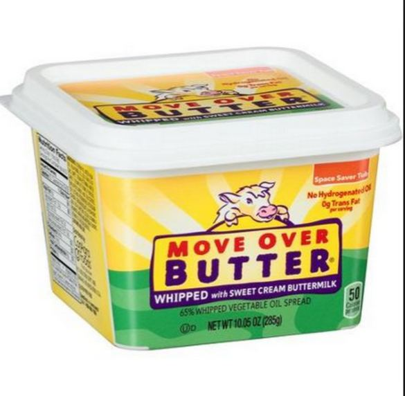 Move Over Butter Whipped Vegetable Oil Spread, 10.05 Ounce