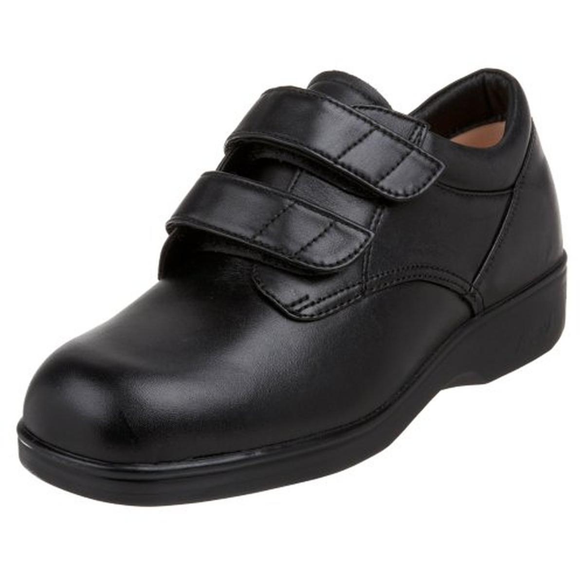 apex womens leather slip resistant work shoes walmart