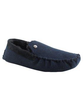Steve Madden Mens Navy Moccasin Slippers Size 11