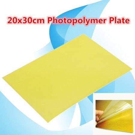 1pcs 20x30cm Photopolymer Plate Rubber Stamp Making Craft Letterpress Polymer Die DIY - image 5 of 7