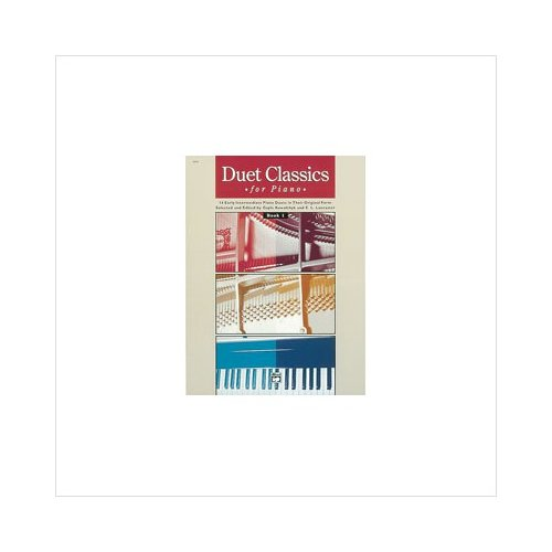 Alfred 00-6644 Duet Classics for Piano- Book 1 Music Book by Alfred
