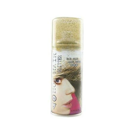 Adult Gold Glitter Hair Spray - Gold Hairspray