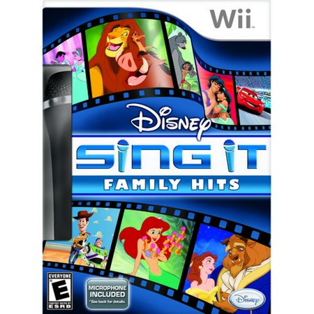 Disney Sing It: Family Hits with mic (Wii)