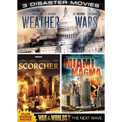3 Disaster Movies: Weather Wars   Scorcher   Miami Magma by ECHO BRIDGE ENTERTAINMENT