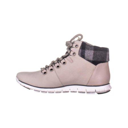 62f6088c4c5 Cole Haan Women's Zerogrand Hiker W14071/Dove/ Nubuck Wp Leath/Grey ...