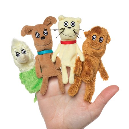 Dr. Seuss What Pet Should I Get Finger Puppet Set, The unique cast of characters by Dr. Seuss come to life in this finger puppet set by Manhattan Toy By Manhattan Toy - Seuss Characters