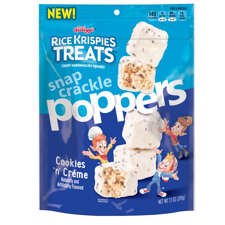 (2 pack) Kellogg's Rice Krispies Treats Poppers Cookies n ...