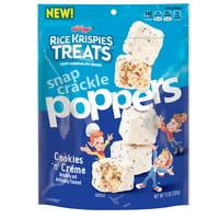 Kellogg's Rice Krispies Treats Poppers Cookies n' Cream 7.1 oz