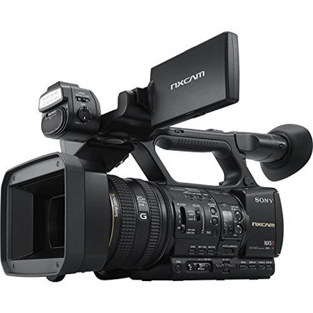 Sony NXCAM HXR-NX5R - Camcorder - 1080p - 2.07 MP - 20x optical zoom - flash card - Wi-Fi, NFC (Sony 1080p Video Camera)