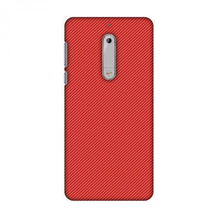 save off f23ef c424a Nokia 5 Case, Premium Handcrafted Designer Hard Shell Snap On Case Printed  Back Cover with Screen Cleaning Kit for Nokia 5, Slim, Protective - Carbon  ...