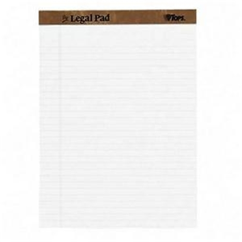 Tops The Legal Pad Ruled Top Perforated 7533