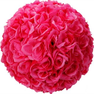 "Rose 10"" Pink Flower Ball Centerpiece Decoration Keepsake"