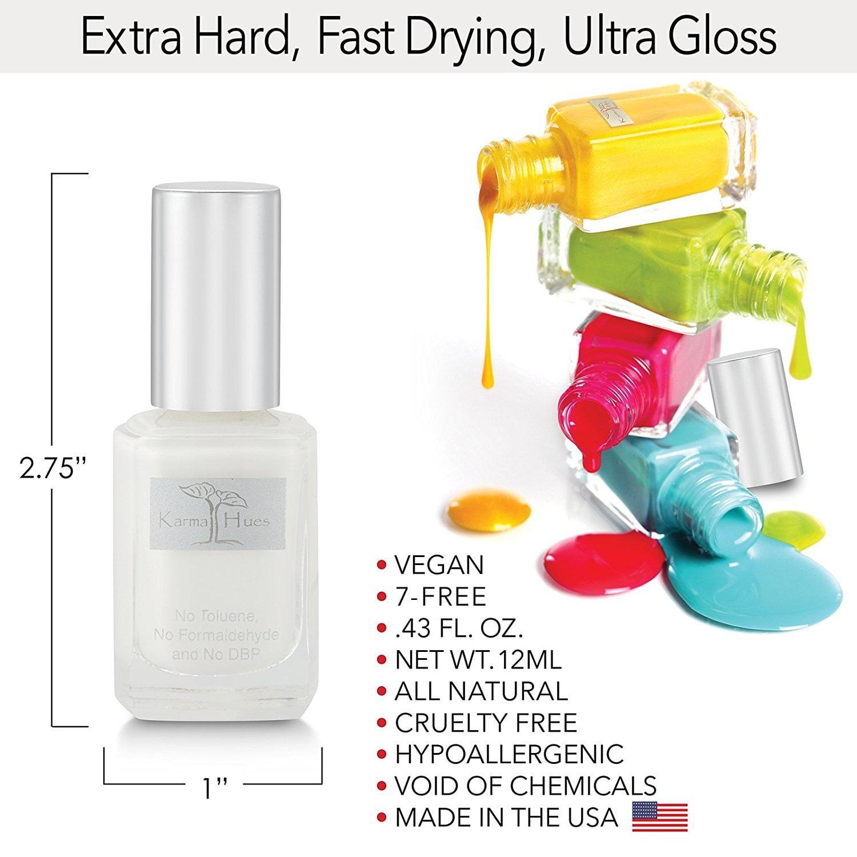 Karma Organic Non-Allergenic Nail Polish (CHAKRA) - Walmart.com