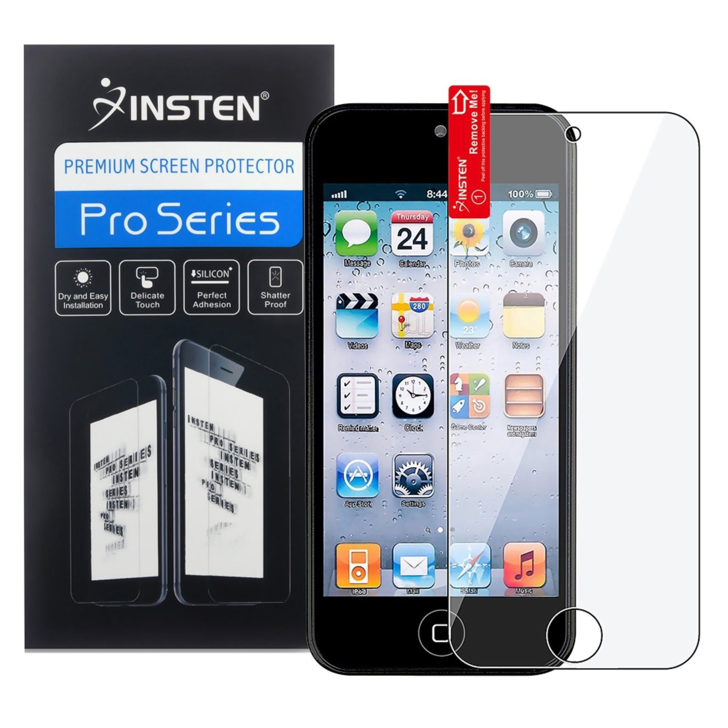 Insten Pack 5 x Anti-Scratch Screen Protector Cover - Clear For Apple iPod Touch 6 6th 5 5th Gen