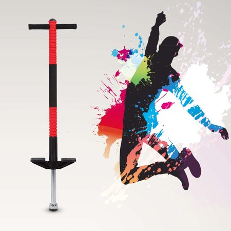 Single Bar Jackhammer Pogo Jumper Jump Stick Sports Toys For Children (Red)](Halloween Bar Promo)