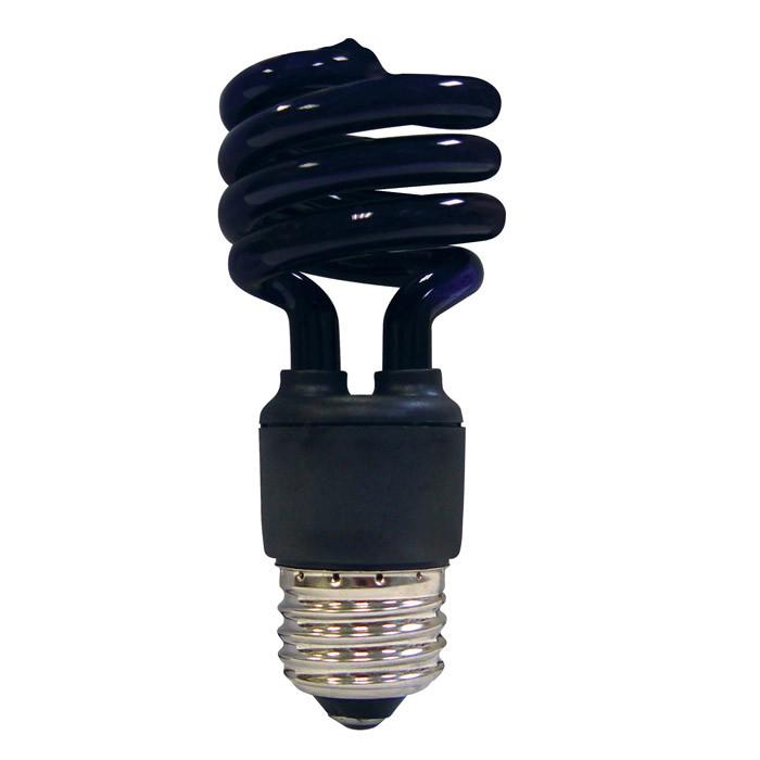 Satco S7277 13W T2 Ultra Mini Specialty Spirals Screw-In Blacklight CFL bulb