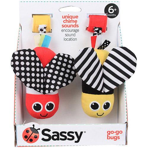 Sassy Go-Go Bugs, Colors May Vary