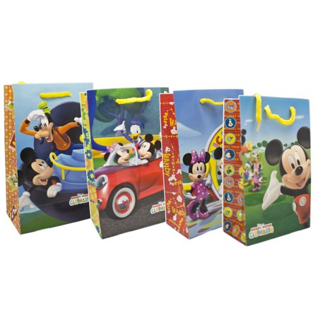 Mickey Gift Bags (Disney's Mickey Mouse Clubhouse Assorted Design Small Size Gift Bags)