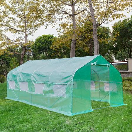 20'X10'X7' Walk-In Greenhouse Outdoor Plant Gardening ...