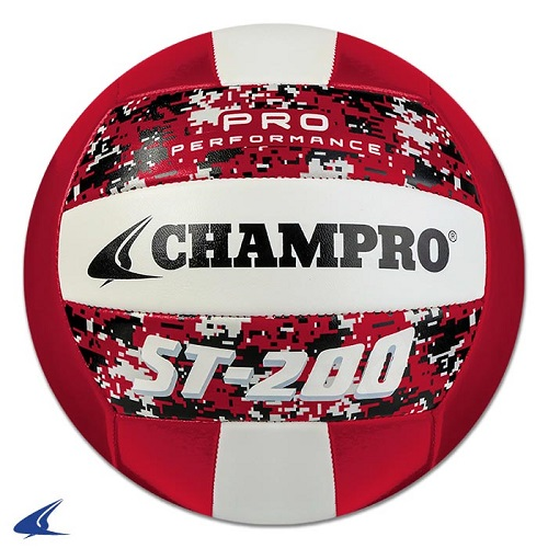 CHAMPRO ST-200 Volleyball Camo Red
