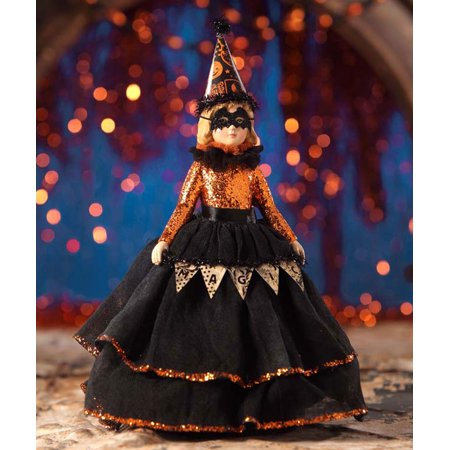 Bethany Lowe Halloween TD6040 Magic Halloween Doll - Halloween Makeup Doll