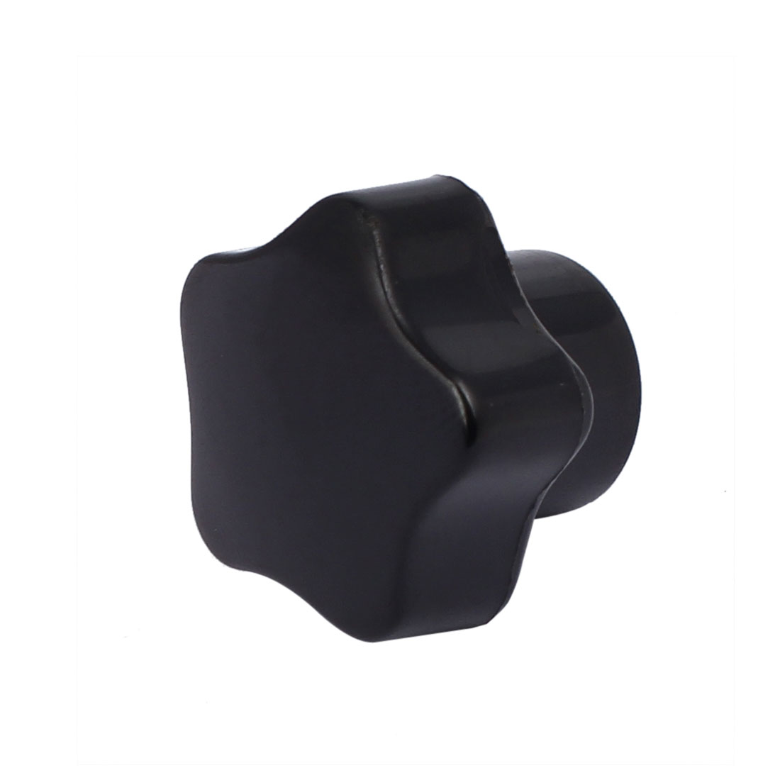M5 Female Thread Star Head Bakelite Knobs Handle Machine Tool Black - image 2 of 3