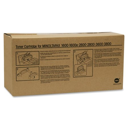 Konica Minolta 4152611 Toner, 6000 Page-Yield, Black