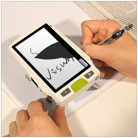 Portable Video Magnifier (Visum 4.3-in Portable Video Magnifier with TV Connector -)
