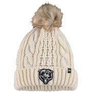 Chicago Bears '47 Women's Meeko Cuffed Knit Hat - Cream - OSFA