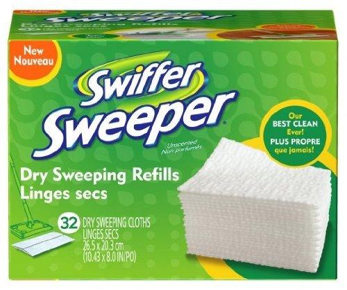Swiffer Swiffer Sweeper Dry Cloths Refill Cloth 32