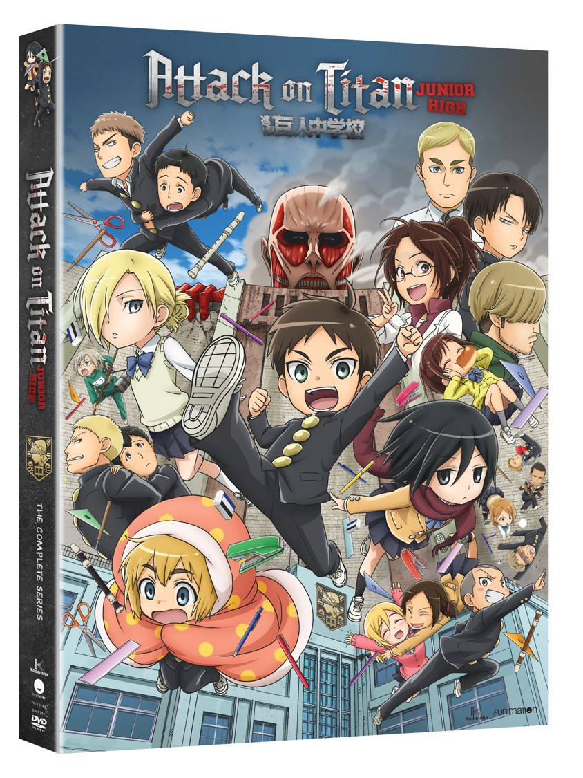 Attack On Titan: Junior High The Complete Series (Walmart Exclusive) by
