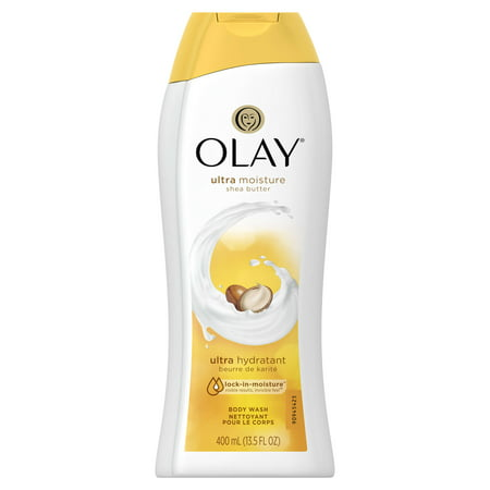 - (3 pack) Olay Ultra Moisture Shea Butter Body Wash, 13.5 oz