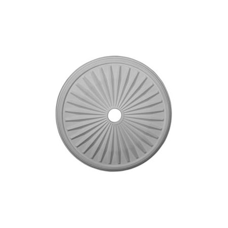 33 1/8u0022OD x 3 1/2u0022ID x 1 3/8u0022P Leandros Ceiling Medallion (Fits Canopies up to 5u0022)